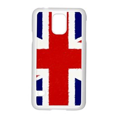 Union Jack Watercolor Drawing Art Samsung Galaxy S5 Case (white) by picsaspassion