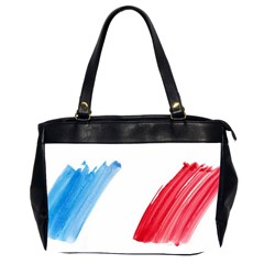 France Flag, Banner Watercolor Painting Art Office Handbags (2 Sides)  by picsaspassion