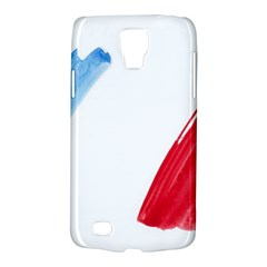 France Flag, Banner Watercolor Painting Art Galaxy S4 Active