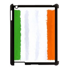 Flag Ireland, Banner Watercolor Painting Art Apple Ipad 3/4 Case (black) by picsaspassion