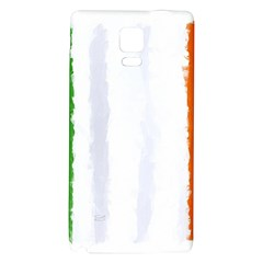 Flag Ireland, Banner Watercolor Painting Art Galaxy Note 4 Back Case by picsaspassion