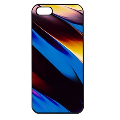 Abstract Acryl Art Apple Iphone 5 Seamless Case (black) by tarastyle