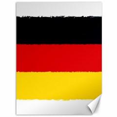 German Flag, Banner Deutschland, Watercolor Painting Art Canvas 36  X 48   by picsaspassion