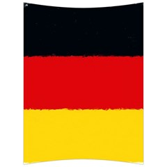 German Flag, Banner Deutschland, Watercolor Painting Art Back Support Cushion by picsaspassion