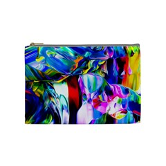 Abstract Acryl Art Cosmetic Bag (medium)  by tarastyle