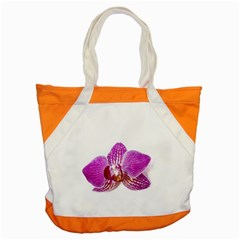 Lilac Phalaenopsis Aquarel  Watercolor Art Painting Accent Tote Bag by picsaspassion