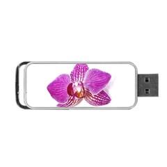 Lilac Phalaenopsis Aquarel  Watercolor Art Painting Portable Usb Flash (one Side) by picsaspassion