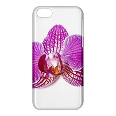 Lilac Phalaenopsis Aquarel  Watercolor Art Painting Apple Iphone 5c Hardshell Case by picsaspassion