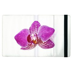 Lilac Phalaenopsis Aquarel  Watercolor Art Painting Apple Ipad Pro 9 7   Flip Case by picsaspassion