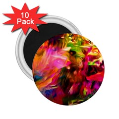 Abstract Acryl Art 2 25  Magnets (10 Pack)  by tarastyle