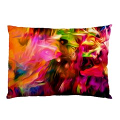 Abstract Acryl Art Pillow Case by tarastyle