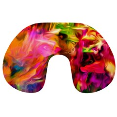 Abstract Acryl Art Travel Neck Pillows by tarastyle