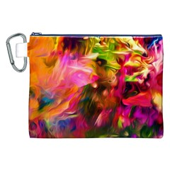 Abstract Acryl Art Canvas Cosmetic Bag (xxl)