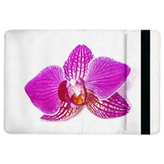 Lilac Phalaenopsis Flower, Floral Oil Painting Art Ipad Air 2 Flip by picsaspassion