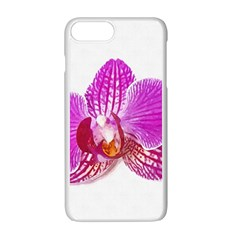 Lilac Phalaenopsis Flower, Floral Oil Painting Art Apple Iphone 7 Plus Seamless Case (white) by picsaspassion