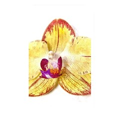 Yellow Phalaenopsis Flower, Floral Aquarel Watercolor Painting Art Memory Card Reader