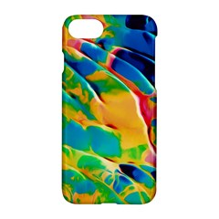 Abstract Acryl Art Apple Iphone 8 Hardshell Case
