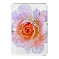 Pink Rose Flower, Floral Oil Painting Art Samsung Galaxy Tab Pro 10 1 Hardshell Case