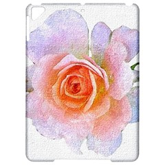 Pink Rose Flower, Floral Oil Painting Art Apple Ipad Pro 9 7   Hardshell Case by picsaspassion