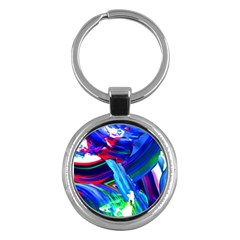 Abstract Acryl Art Key Chains (round)  by tarastyle