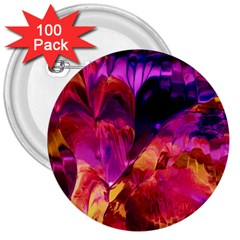 Abstract Acryl Art 3  Buttons (100 Pack)  by tarastyle