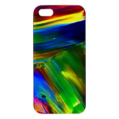 Abstract Acryl Art Iphone 5s/ Se Premium Hardshell Case