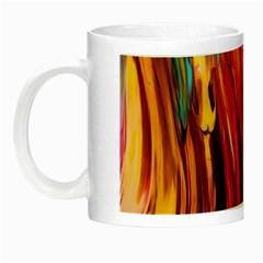 Abstract Acryl Art Night Luminous Mugs by tarastyle
