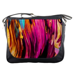 Abstract Acryl Art Messenger Bags by tarastyle