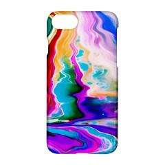 Abstract Acryl Art Apple Iphone 8 Hardshell Case