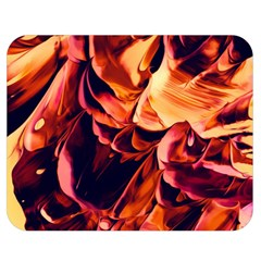 Abstract Acryl Art Double Sided Flano Blanket (medium)  by tarastyle
