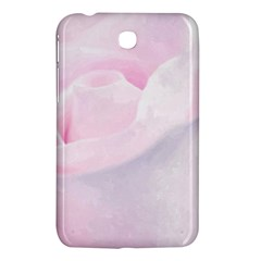 Rose Pink Flower, Floral Aquarel   Watercolor Painting Art Samsung Galaxy Tab 3 (7 ) P3200 Hardshell Case  by picsaspassion