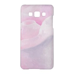Rose Pink Flower, Floral Aquarel   Watercolor Painting Art Samsung Galaxy A5 Hardshell Case  by picsaspassion