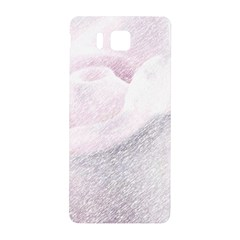 Rose Pink Flower  Floral Pencil Drawing Art Samsung Galaxy Alpha Hardshell Back Case by picsaspassion