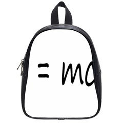 E=mc2 Gravity Formula Physics School Bag (small) by picsaspassion