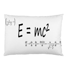 E=mc2 Formula Physics Relativity Pillow Case (two Sides) by picsaspassion