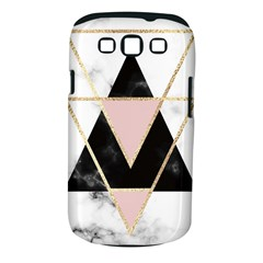 Triangles,gold,black,pink,marbles,collage,modern,trendy,cute,decorative, Samsung Galaxy S Iii Classic Hardshell Case (pc+silicone) by 8fugoso