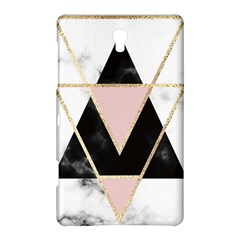 Triangles,gold,black,pink,marbles,collage,modern,trendy,cute,decorative, Samsung Galaxy Tab S (8 4 ) Hardshell Case  by 8fugoso
