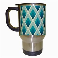 Artdecoteal Travel Mugs (white) by 8fugoso
