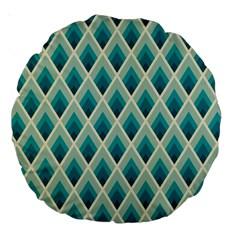 Artdecoteal Large 18  Premium Round Cushions by 8fugoso