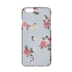 Floral Blue Apple Iphone 6/6s Hardshell Case by 8fugoso