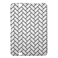 Brick2 Black Marble & White Linen Kindle Fire Hd 8 9