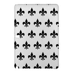 Royal1 Black Marble & White Linen (r) Samsung Galaxy Tab Pro 10 1 Hardshell Case by trendistuff