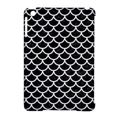 Scales1 Black Marble & White Linen (r) Apple Ipad Mini Hardshell Case (compatible With Smart Cover) by trendistuff
