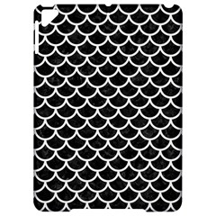 Scales1 Black Marble & White Linen (r) Apple Ipad Pro 9 7   Hardshell Case by trendistuff
