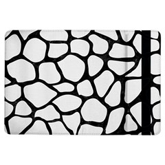 Skin1 Black Marble & White Linen (r) Ipad Air Flip by trendistuff