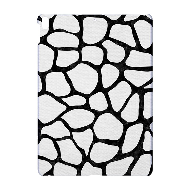 SKIN1 BLACK MARBLE & WHITE LINEN (R) Apple iPad Pro 10.5   Hardshell Case