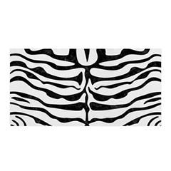 Skin2 Black Marble & White Linen Satin Wrap by trendistuff