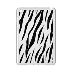 Skin3 Black Marble & White Linen Ipad Mini 2 Enamel Coated Cases by trendistuff