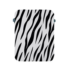 Skin3 Black Marble & White Linen Apple Ipad 2/3/4 Protective Soft Cases by trendistuff