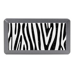 Skin4 Black Marble & White Linen Memory Card Reader (mini) by trendistuff